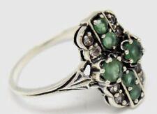 Anelli di lusso smeraldo Misura anello 18
