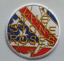 PUNK ROCK HEAVY METAL MUSIC SEW ON / IRON ON PATCH:- THE STONE ROSES (b) DISC