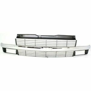 Front Grille W/ Composite Headlamp Chrome/Argent fits 1995 2005 Chevrolet Astro