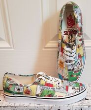 VANS Peanuts comics special Edt. Mens White NEW in BOX UK 9 EUR 43 RRP £70