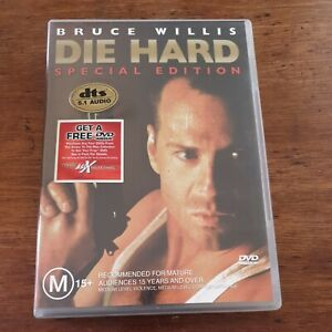 Die Hard DVD R4 Like New! FREE POST Bruce Willis Special Edition