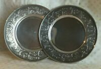SPAULDING & Co. Sterling Silver Bread and Butter Plates #1052L Set of 2 Plates