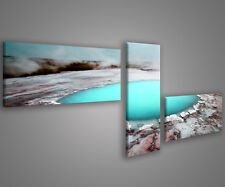 Quadri moderni astratti 180 x 70 stampe su tela canvas con telaio MIX-S_75
