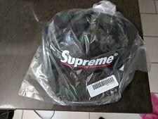 Supreme Underline 5-Panel Snapback Hat Camo SS20