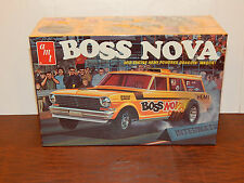 "Vintage AMT 1963 Chevy Nova ""Boss Nova"" Dragster Kit ~ Sealed    (Lot#43)"