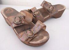 Dansko Women's Sophie Two Band Slide Sandals Size: 38