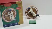 Jackie Robinson Carlton Cards Ornament With Sound #161 with Box Baseball Legend