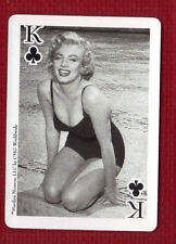MARILYN MONROE Star Playing Card King of Clubs CMG Worldwide