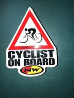 """NEW NW Northwave Initials Only Extra Large  Bicycle Sticker Decal 20"""" x 8"""""""