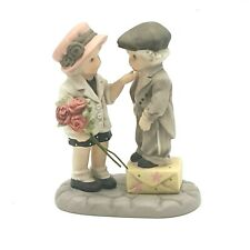 """Kim Anderson's Pretty As A Picture By Eneso Porcelain Figurine """"Don't Forget Me"""""""