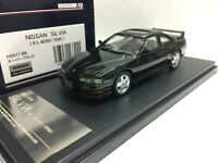 po 1/43 HI STORY HS077BK NISSAN SILVIA S14 K'S AERO 1996 BLACK model car