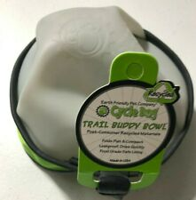 Cycle Dog Trail Buddy Collapsible Travel Bowl 22 Ounce Green NEW BJ