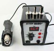 New 220V ATTEN AT-858D+ SMD Hot Air Rework Station Solder