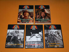 THANASIS VEGGOS PAPAGIANNOPOULOS FONSOU LOGOTHETIS 5x DVD LOT GREEK MOVIES New