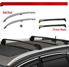 For 12-15 Honda CRV Roof Rack Side Rail+Cross Bars Bolt-On to Factory Hole Mount