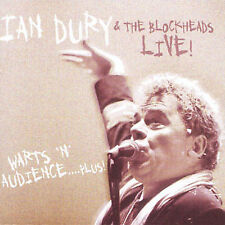 Ian Dury Warts 'N' Audience Live CD *SEALED* What A Waste Blockheads