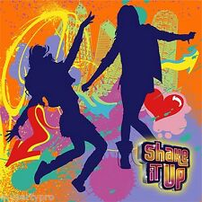 DISNEY'S SHAKE IT UP BIRTHDAY PARTY supplies (BEVERAGE NAPKINS) FREE SHIPPING