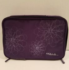 "Golla Mobile Lifestyle Laptop Bag Purple Flower Design 10.5' x 7.5"" x 2"" Deep"
