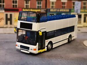 1'76th Corgi OOC bus dealer stock plain white Volvo Olympian open top code 3