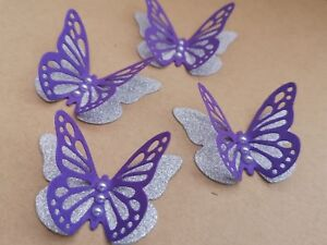 15x 3D paper butterflies Birthday, Wedding  Bridal Shower Party table decoration