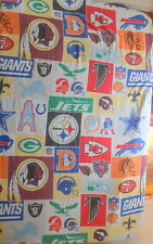 NFL Football Team Logo Twin Flat Sheet JC Penney