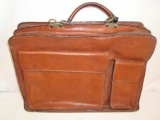 Vintage Isola Briefcase Leather Made in Italy