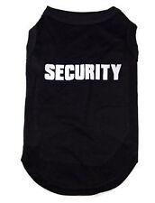 SECURITY**Medium SIZE**NEW, dog, singlet, t shirt, vest, puppy, tank top, cotton