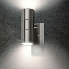 Edelstahl Wandlampe mit Bewegungsmelder 26APIR Lampe Aussen Leuchte Wandleuchte