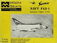 Collectors Classics 1:48 Douglas Skyray Navy F4D-1 Fighter F-6A Kit #MS4-2U