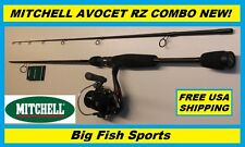 MITCHELL AVOCET RZ 7' Fishing Combo Spinning Rod and Reel #AVRZ-2000/702M NEW!