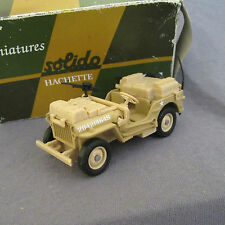 209E Solido Jeep Willys 20421564S USA WWII 1/43