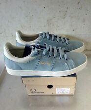 FRED PERRY sidespin canvas sub blue 41 EU NEW OG BOX