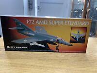 Heller / Humbrol plastic kit of AMD Super Etendard 1/72 Scale NEW & CONTENTS
