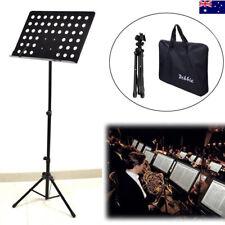 Adjustable Music Sheet Stand Metal Tripod Holder Folding Professional Stage AU