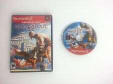 God of War game for Sony Playstation 2 PS2 -Game & Case