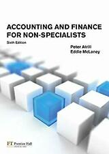 Accounting and Finance for Non-Specialists by Atrill, Peter-ExLibrary