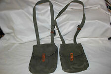 2 Yugoslavian Military AK-47 4 Cell Magazine Pouch for 30 Round Mags Nice