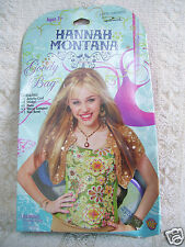 Hallmark Hannah Montana Party Express Goody Bag Card Sticker Hair Band & More