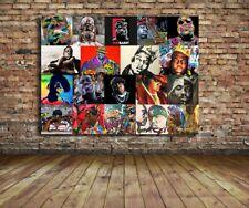 Biggie Smalls custom 36 x 24 Canvas Print Hip Hop Notorious BIG Giclee 1 of kind