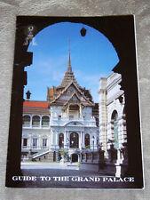 1997 Guide to the Grand Palace Bangkok, Thailand