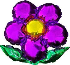 """Purple Flower 18"""" Foil Balloon"""