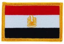 Patch écusson brodé Drapeau  EGYPTE EGYPTIEN  FLAG Thermocollant