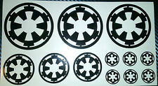 Star Wars Imperial Logo, Sticker, Vinyl, Car, Tablet, Phone, Laptop,Bike,