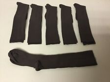 NWOT Nurse Mates Suppsocks Compression Coolmax Socks Medium 6 Pair Brown #653L