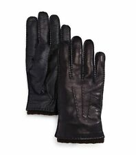 The Men's Store Men's Gloves Blue Brown Size XL Nappa Tech Palm Leather $128 494