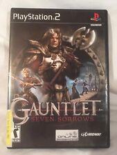 PS2 Gauntlet Seven Sorrows