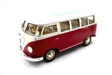 Vw Bay T1 Dormobile Camping car Camping-car Welly 1 24