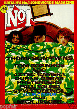 NO 1! NUMBER ONE 1983 DURAN DURAN THOMPSON TWINS MICK JAGGER TOM ROBINSON ABC