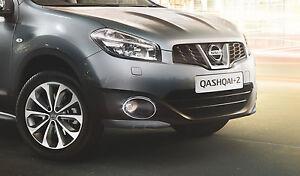 Nissan Qashqai/+2 Genuine Car Front Foglight Fog Lamp Chrome Rings - KE540BR080