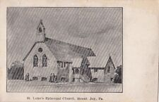 Postcard St Luke's Episcopal Church Mount Joy Pa